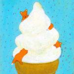 アイスクリームが大好きで 夏はやっぱり!と言いたくなるし 冬もやっぱり!って言いたくなっちゃう。